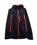 narifuri(ナリフリ)の古着「2レイヤーマウンテンパーカー」|パープル