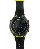 SEIKO(セイコー)の古着「腕時計」 ブラック