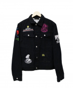 Fucking Awesome(ファッキンオーサム)の古着「Sponsored FA Rodeo Jacket」|ブラック