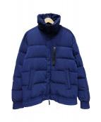 DIESEL BLACK GOLD(ディーゼルブラックゴールド)の古着「中綿ジャケット」|ブルー