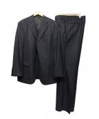 DURBAN(ダーバン)の古着「シルク混セットアップスーツ」|ネイビー