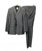 DURBAN(ダーバン)の古着「シルク混セットアップスーツ」|グレー