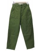 THE SHINZONE(ザ シンゾーン)の古着「ベイカーパンツ」|グリーン