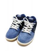 NIKE SB(ナイキエスビー)の古着「SB DUNK LOW PRO PRM」|ブルー