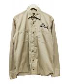 TENDERLOIN(テンダーロイン)の古着「ワークシャツ」|ベージュ