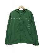 Supreme(シュプリーム)の古着「Curve Logos Ripstop Jacket」 グリーン