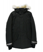 CANADA GOOSE(カナダグース)の古着「EDGEWOOD PARKA BLACK LABEL」|ブラック