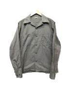 ATLAST & CO(アットラスト)の古着「オープンカラーシャツ」 グレー