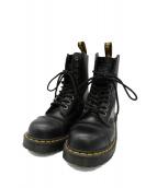 Dr.Martens(ドクターマーチン)の古着「CORE 8761 STEEL TOE 10 EYE BOO」|ブラック