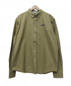 BLACK EYE PATCH(ブラックアイパッチ)の古着「Laundomat L/S Shirt」 ベージュ