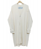 Dulcamara(ドゥルカマラ)の古着「コットンコーディガン」|ホワイト