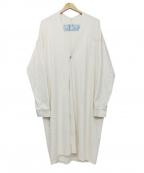 Dulcamara(ドゥルカマラ)の古着「コットンコーディガン」 ホワイト