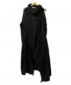 DAMIR DOMA(ダミールドマ)の古着「ナイロンコート」|ブラック
