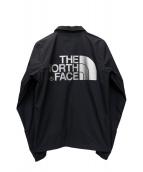 THE NORTH FACE(ザノースフェイス)の古着「バックロゴコーチジャケット」|ネイビー