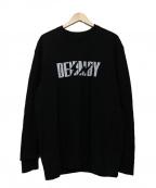 DENIM BY VANQUISH&FRAGMENT(デニムバイヴァンキッシュ&フラグメント)の古着「クルーネックスウェット」|ブラック