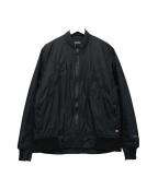 Manastash(マナスタッシュ)の古着「中綿ジャケット」 ブラック