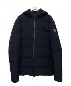 EMPORIO ARMANI EA7(エンポリオアルマーニ イーエーセブン)の古着「中綿ジャケット」|ネイビー