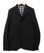 Rags McGREGOR(ラグスマックレガー)の古着「ウールテーラードジャケット」 ブラック