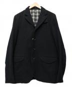 Rags McGREGOR(ラグス マクレガー)の古着「ウールテーラードジャケット」|ブラック