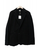 Rags McGREGOR(ラグスマックレガー)の古着「コットンテーラードジャケット」 ブラック