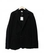 Rags McGREGOR(ラグス マクレガー)の古着「コットンテーラードジャケット」|ブラック