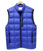 adsum(アドサム)の古着「Hyperlight Down Vest」|ブルー