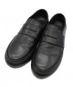 Pantofola dOro(パントフォラドーロ)の古着「ローファー」|ブラック