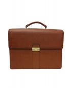 LE TANNEUR(ルタヌア)の古着「ビジネスバッグ」|ブラウン