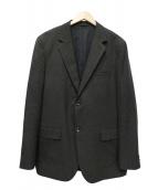 MARGARET HOWELL(マーガレットハウエル)の古着「FINE WOOL SERGEジャケット」|グレー