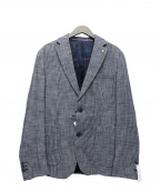 Serge Blanco(セルジュブランコ)の古着「テーラードジャケット」|ネイビー