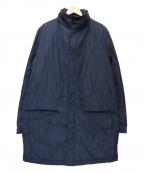 Serge Blanco(セルジュブランコ)の古着「中綿コート」|ネイビー