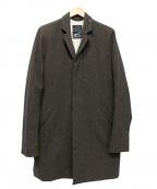 Denham()の古着「チェスターコート」 ブラウン