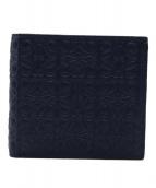 LOEWE(ロエベ)の古着「2つ折り財布」|ネイビー