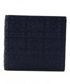 LOEWE()の古着「2つ折り財布」|ネイビー