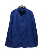 Eddie Bauer(エディーバウアー)の古着「ステンカラーコート」 ブルー