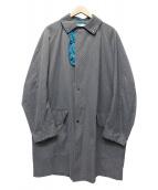 KOLOR(カラー)の古着「パンチングコート」|グレー