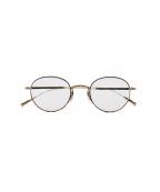 EYEVAN(アイヴァン)の古着「伊達眼鏡」 ブラウン