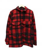 FILSON GARMENT(フィルソンガーメント)の古着「シングルマッキーノクルーザージャケット」 レッド