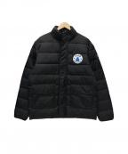 Serge Blanco(セルジュブランコ)の古着「中綿コート」|ブラック
