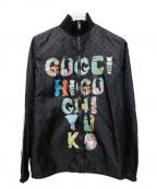 GUCCI()の古着「GGナイロンジャケット」 ブラック