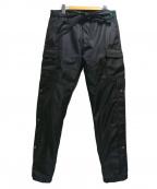 mnml(ミニマル)の古着「SNAP ZIPPER II CARGO PANTS」|ブラック