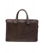 土屋鞄(ツチヤカバン)の古着「ビジネスバッグ」|ブラウン