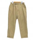 KAPTAIN SUNSHINE(キャプテンサンシャイン)の古着「Traveller Trousers」|ベージュ