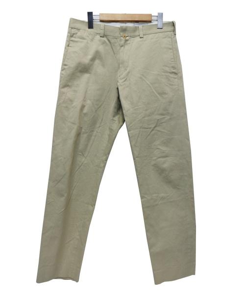 YAECA(ヤエカ)YAECA (ヤエカ) Chino Cloth Pants ベージュ サイズ:W32の古着・服飾アイテム