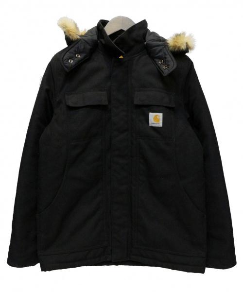 Carhartt WIP(カーハート)CARHARTT WIP (カーハート ダブリューアイピー) Arctic Coat ブラック サイズ:Sの古着・服飾アイテム