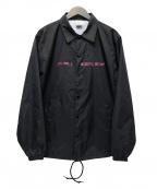 EXAMPLE(イグザンプル)の古着「ナイロンコーチジャケット」 ブラック