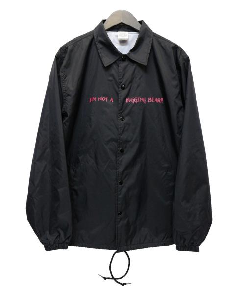 EXAMPLE(エグザンプル)EXAMPLE (イグザンプル) ナイロンコーチジャケット ブラック サイズ:Lの古着・服飾アイテム
