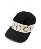 GUCCI(グッチ)の古着「キャップ」|ブラック
