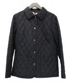 BURBERRY LONDON(バーバリーロンドン)の古着「キルティングジャケット」|ブラック
