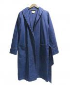 PHERROWS(フェローズ)の古着「デニムショップコート」|インディゴ